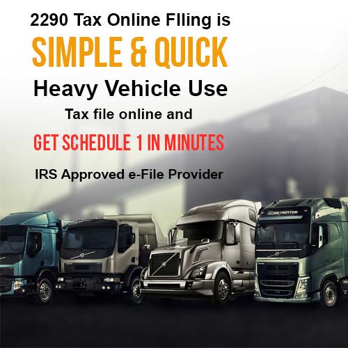 tax 2290 online